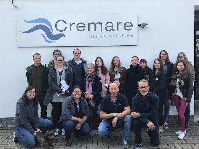 Tierhochschule Hannover zu Besuch bei Cremare-Nord